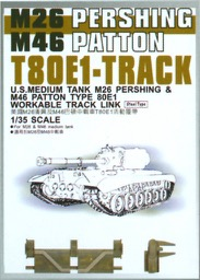 AFV Club AF35037 1//35 M26//46 T84E1 workable Tracks